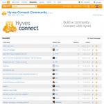 HyvesConnect website Forum