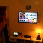 Hyves SamsungTV App - InStoreAmsterdam