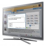 Hyves SamsungTV App - Statusupdate