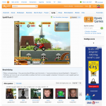 Hyves Games website - Highscore Game