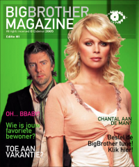Big Brother Magazine Frontpage