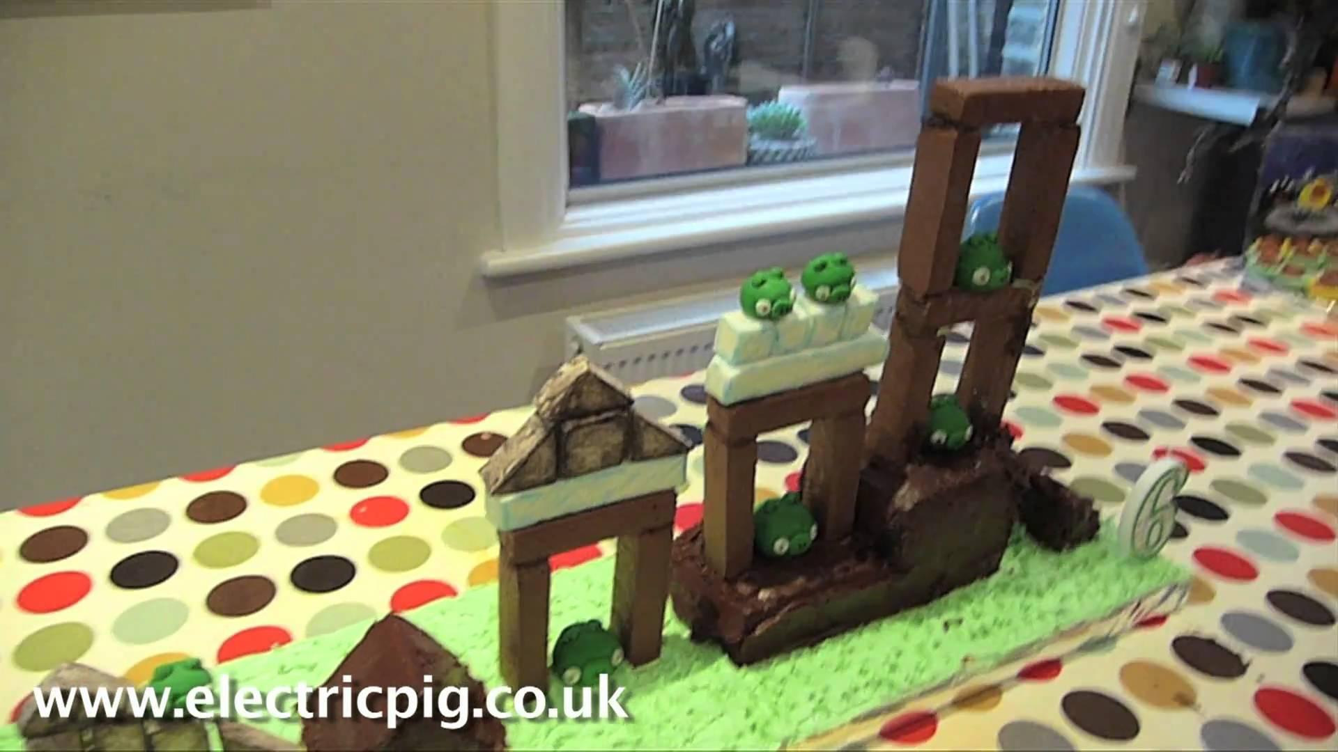 Groovy Playable Angry Birds Birthday Cake Funny Birthday Cards Online Sheoxdamsfinfo